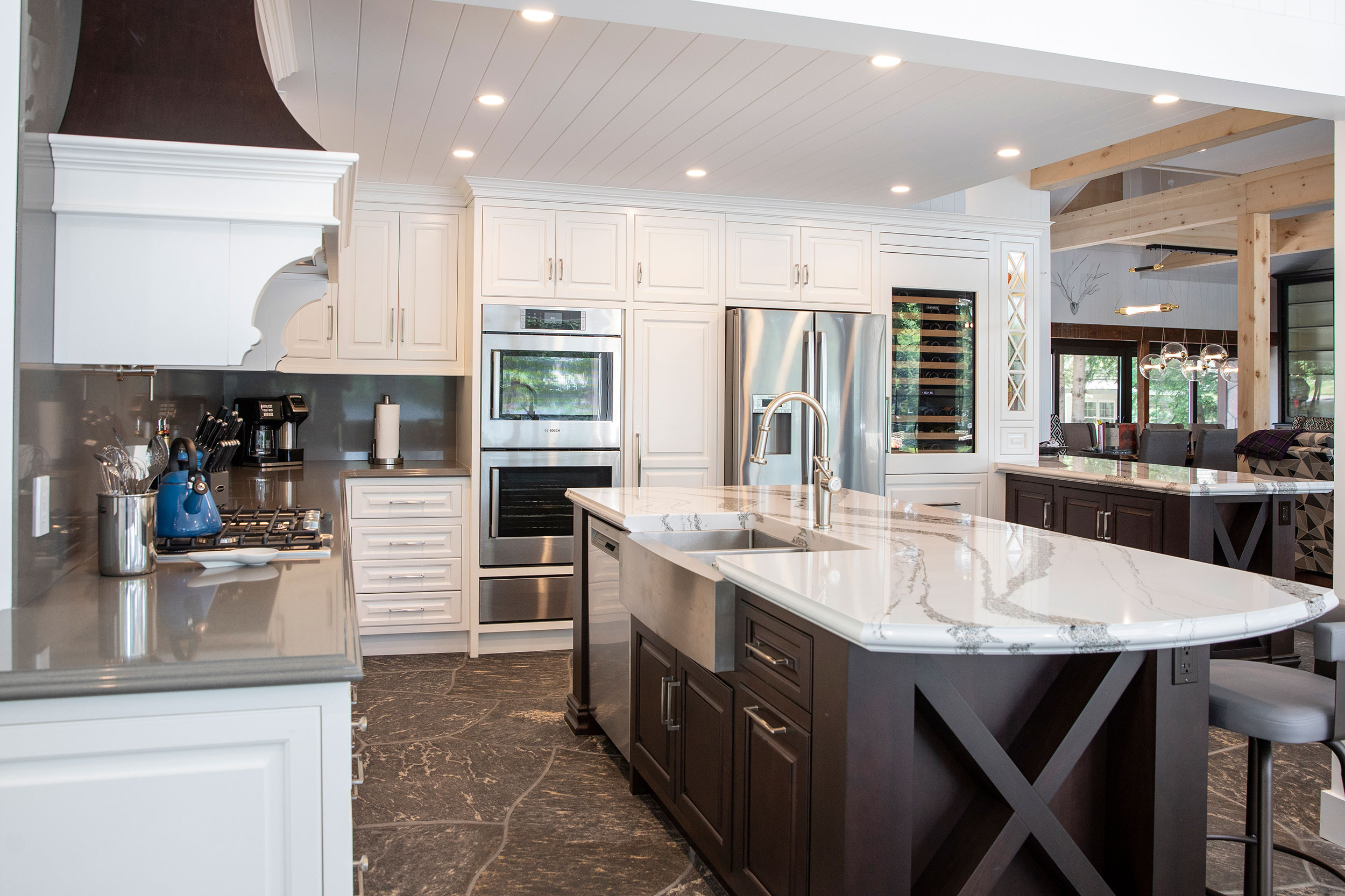 Kevin Swart - Inspired Cabinetry Installation - Chervin Kitchen & Bath - Dockside Magazine