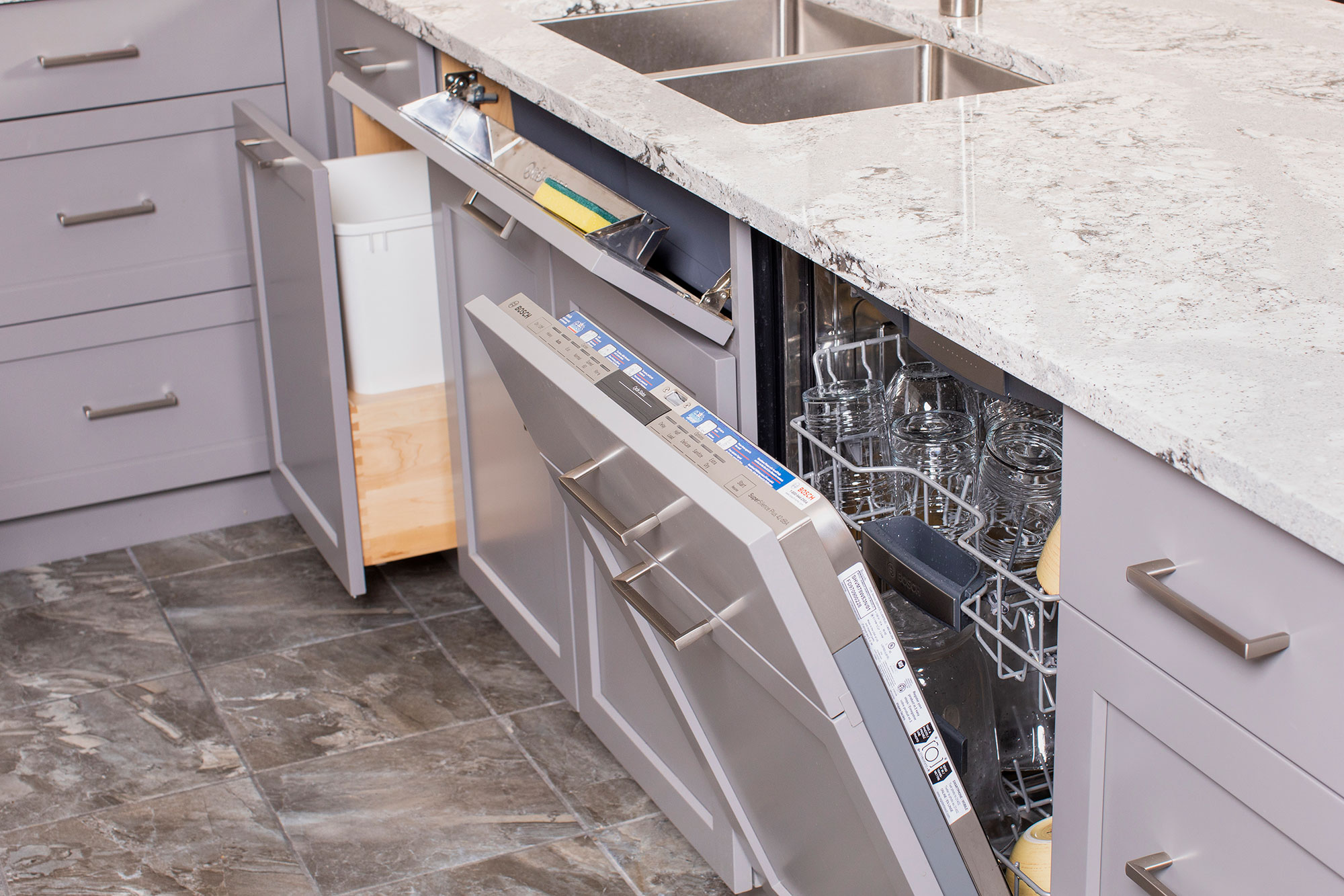 Paneled Dishwasher - Lisa Weber - Chervin Kitchen & Bath - Dockside Magazine