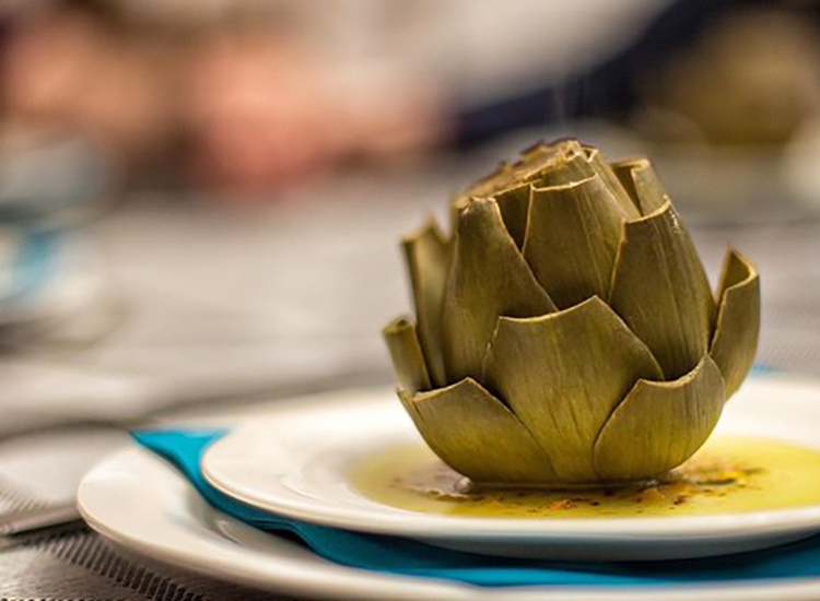 Artichoke & Homemade Dressing