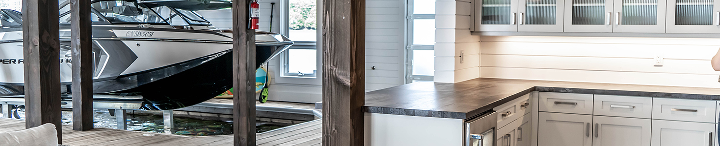 Boathouse Cabinetry - Unrestricted Style