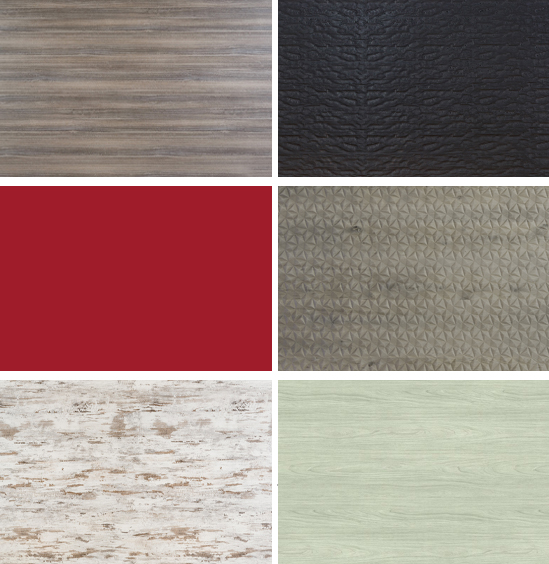 Schenk Finish Samples