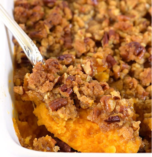 "Sweet Potato Casserole by ""Add A Pinch"""